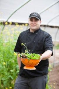 Chef Josh Tomson Garden
