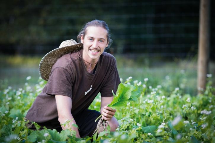 TLAW- Derrick Braun Organic Farmer- Andrea Killam Photography